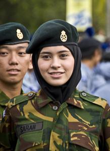 Pengiran_Anak_Sarah_army_cadet