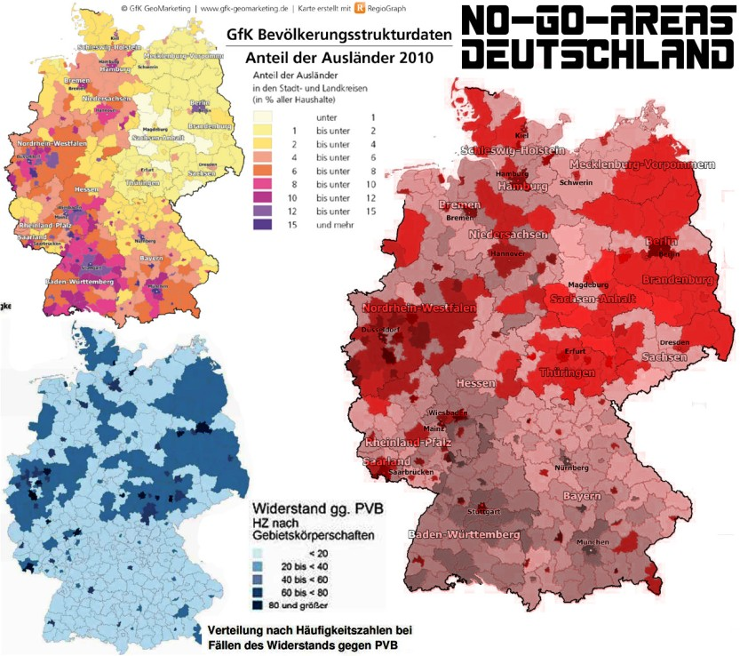 No Go Areas In Deutschland