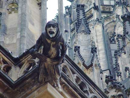 Gargoyle on St. Vitus Cathedral