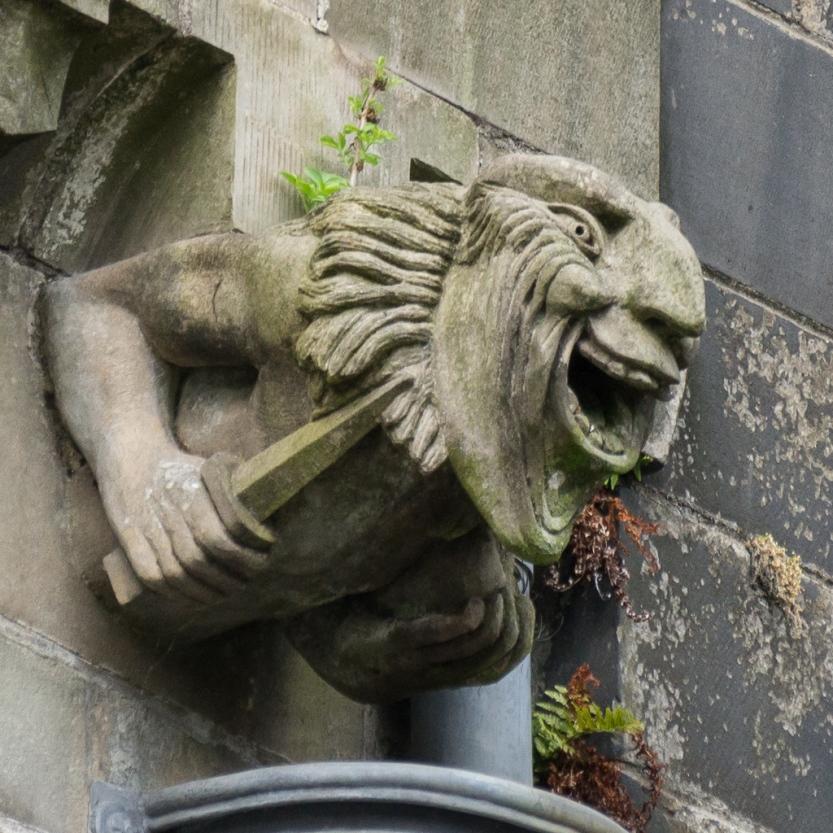 Paisley Abbey gargoyle 13